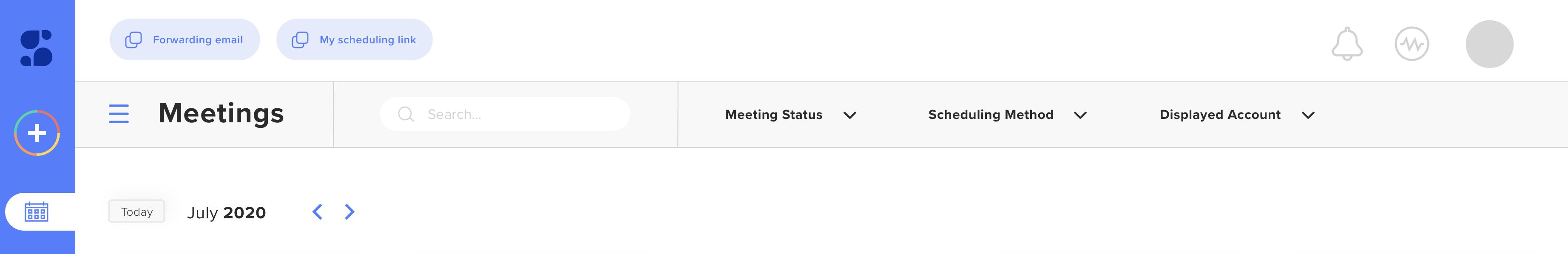 Sidekick Ai Scheduling App Dashboard